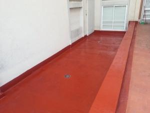 Humedad por filtración en terrzas y tejados 3
