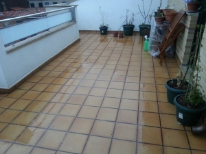 Humedad por filtración en terrazas y tejados 6