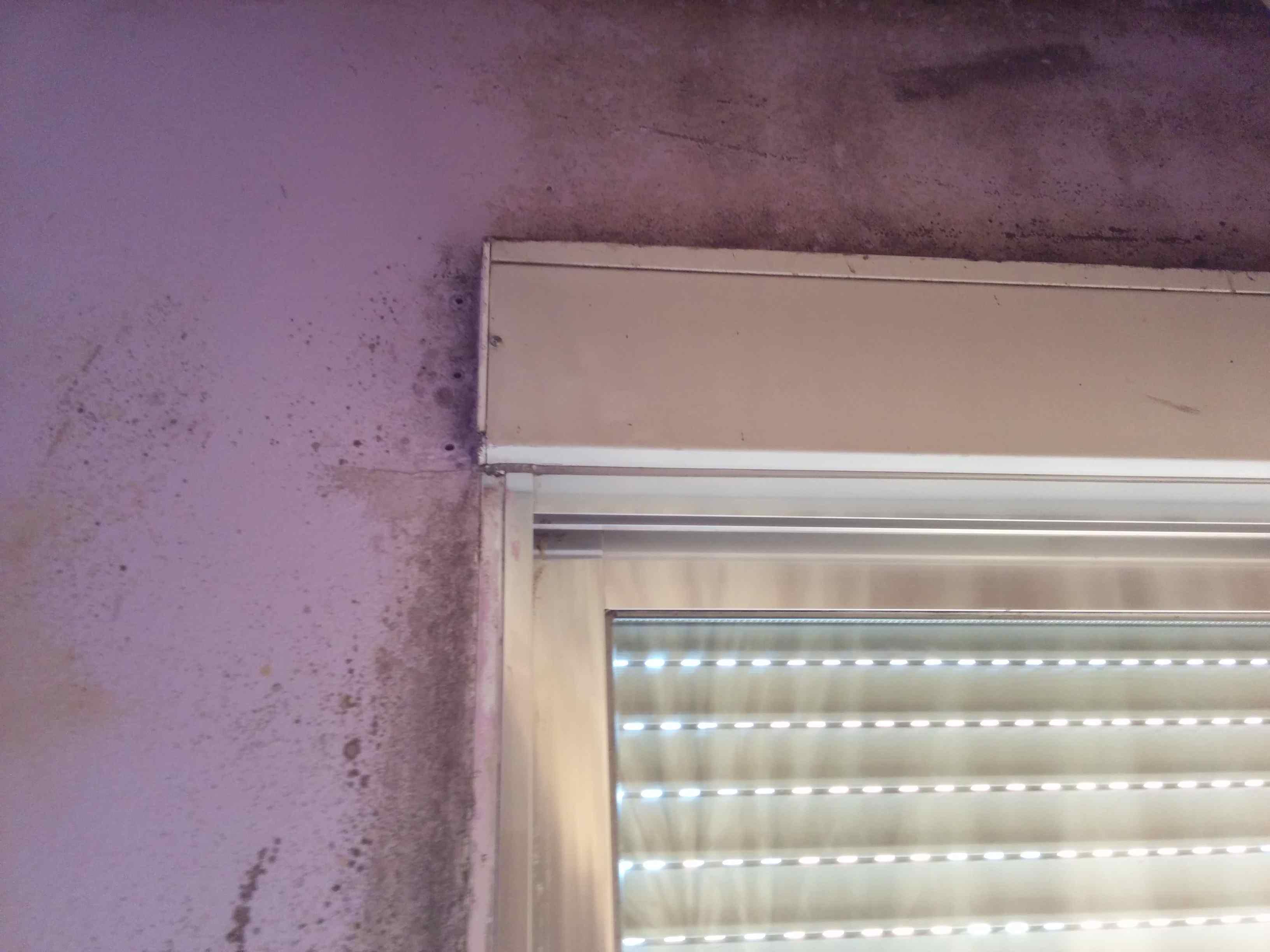 humedad por condensacion en paredes cerca de ventanas