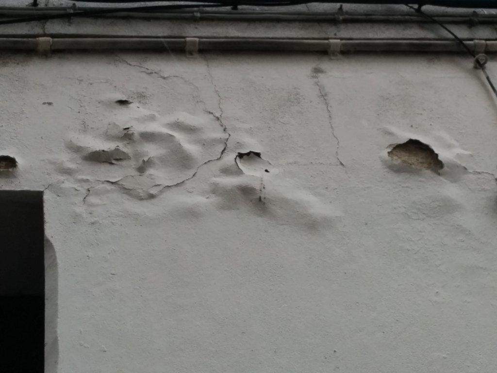 Humedad por filtración en fachadas 3