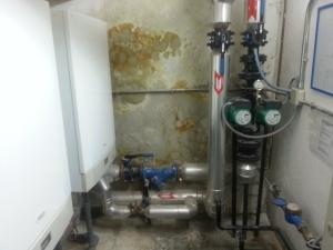 Humedad por filtración en muros y suelos 3