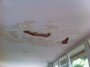 Humedad por filtración en terrazas y tejados. Hume Ingeniería