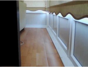 Imagen termográfica de galería balcón.