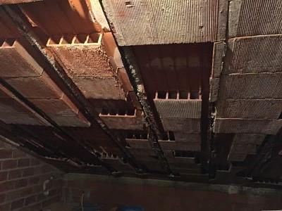 Corrosión De Armaduras Por Filtración