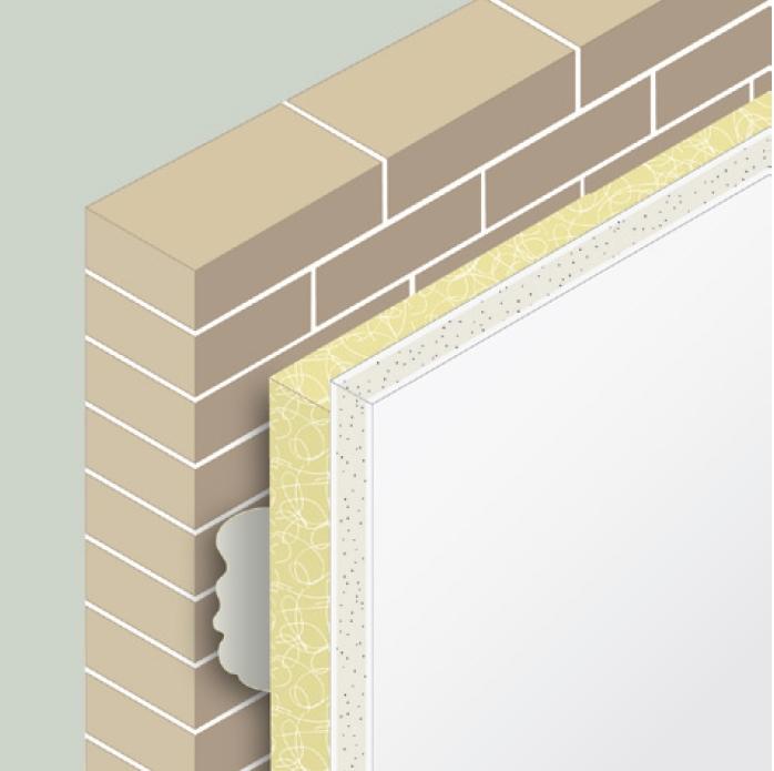Aislamiento interior de fachadas - Planchas de yeso ...