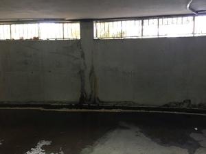 humedad pared garaje