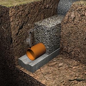 La zanja de drenaje soluciona la humedad por capilaridad - Como solucionar humedades en paredes ...