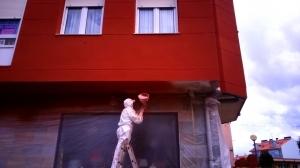fachada corcho proyectado ourense humedad