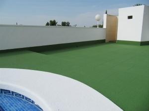 terraza corcho proyectado ourense humedad