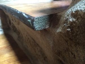 ventana madera humedad