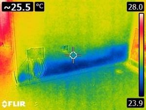 humedad orense capilaridad termografía