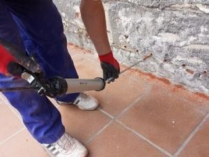 empresa inyecciones humedad capilar pared