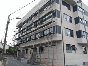 mantenimiento andamio fachada