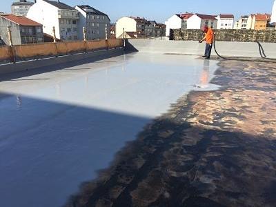 obra impermeabilización terraza