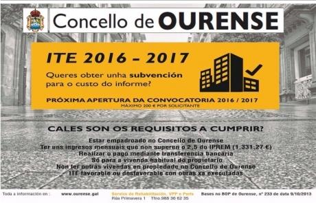presupuesto ite ourense