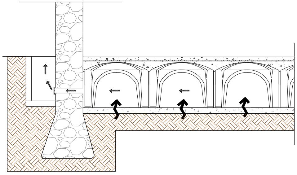 ventilación humedad capilaridad