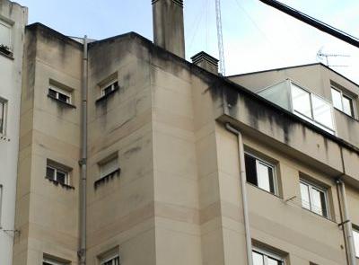 fachada sucia