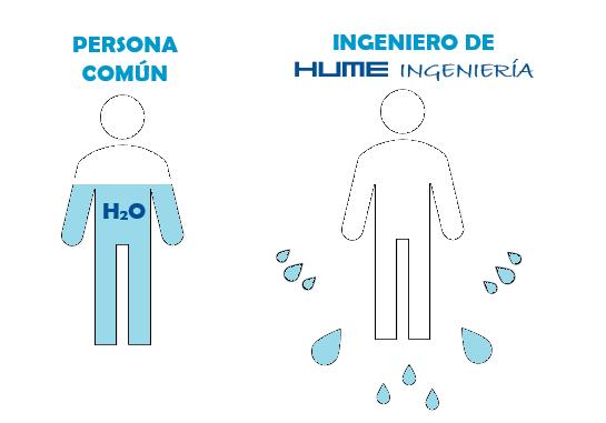 respeto humedad agua