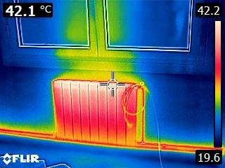 Termografía en humedades