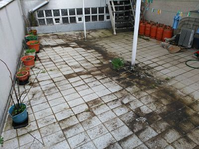 falta mantenimiento terraza humedades