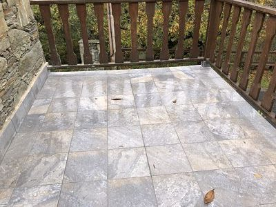 solución terraza humedad