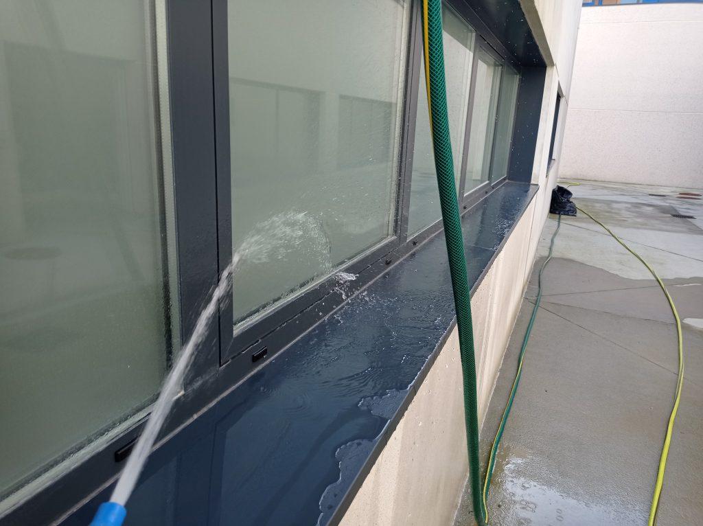ensayo estanqueidad ventana