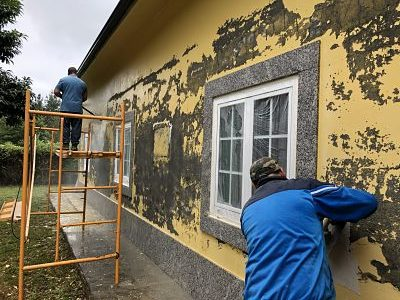 pintura impermeable fachada